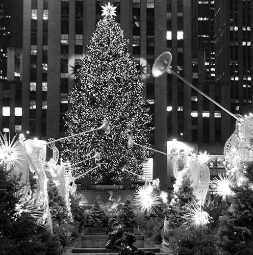 Lights On Rockefeller Christmas Tree