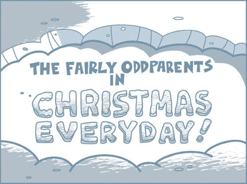 by fred seibert the fairly oddparents in christmas everyday by fred seibert - Fairly Oddparents Christmas