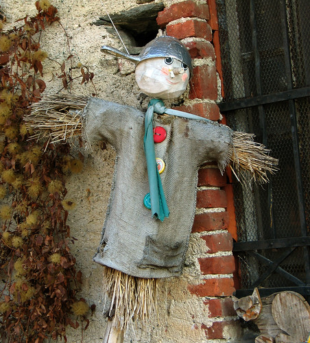 scarecrow | by Guido Romanelli