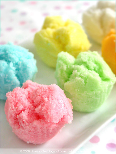 Steam Cake Recipes Pictures : Mini Steamed Cakes - ??? chinese muffins, or ???, as ...