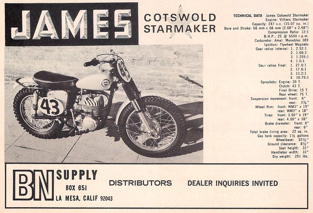 James Cotswold Starmaker