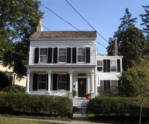 Albert Einsteins House 112 Mercer Street In Princeton