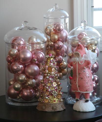 Pastel Christmas Ornaments