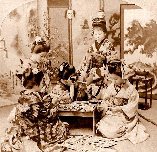 Maiko And Geisha In Stereoview Heaven Traveling The Wor