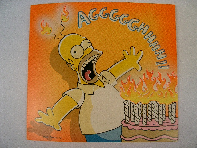 simpsons cards   homer simpson birthday card. when you o…  flickr, Birthday card