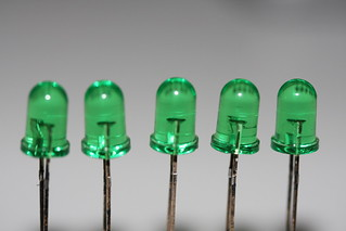 5 green LEDs | by Frisk7