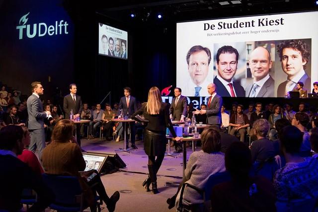 Lijsttrekkersdebat hoger onderwijs - De student kiest