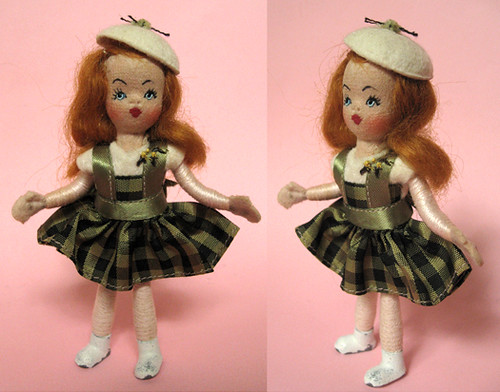 "4"" Tiny Town doll 