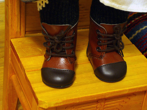 Josefina's Riding Boots | by Inky & Coral
