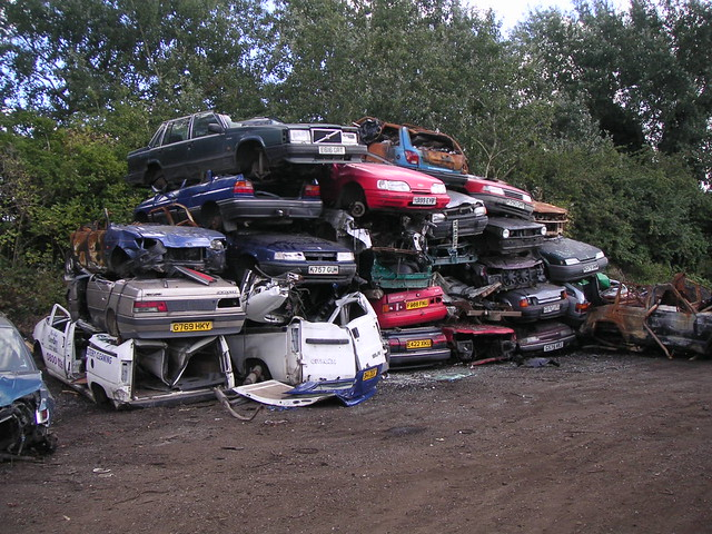 Car Scrap Yard Best Place For Second Hand Car Parts