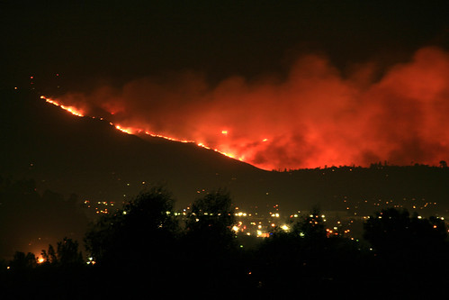 Fires California Map >> Mt. San Miguel on fire. San Diego wildfire as seen looking… | Flickr