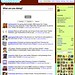 Twitter Screenshot December 2007