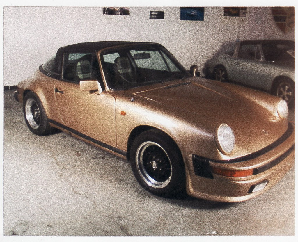 1980 Porsche 911 Sc Targa Vintage Gold Beauty This