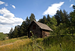 Ranger station outbuilding | by LastBestPlace