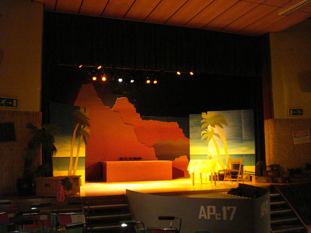set of stage with - photo #37