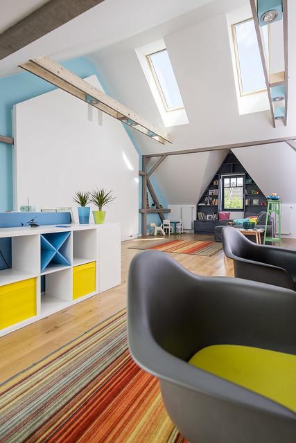 Energiahatékonyan tetőtér-beépítéssel