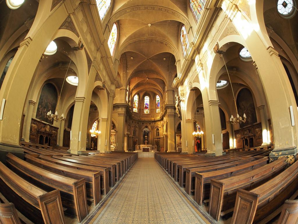 Intérieur de l\'Église Notre-Dame-de-l\'Assomption de Metz | Flickr