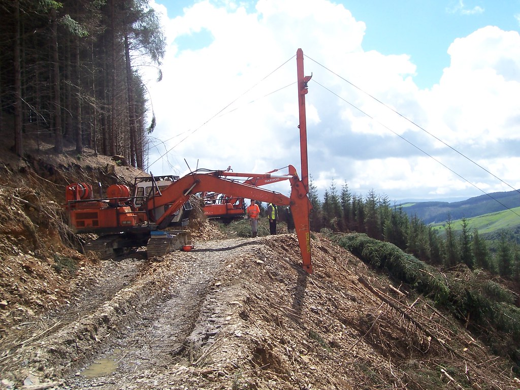 Excavator Skyline Winch This Is My Day Job Building And