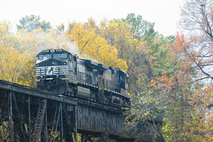 Norfolk Southern 8799 & 9657 | by Bill All