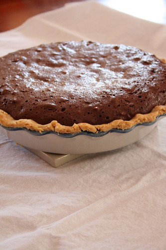 Aaron's Chocolate Pecan Pie | by ElinorB