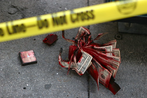 L.A. Bank Robbery | by Colin Remas Brown