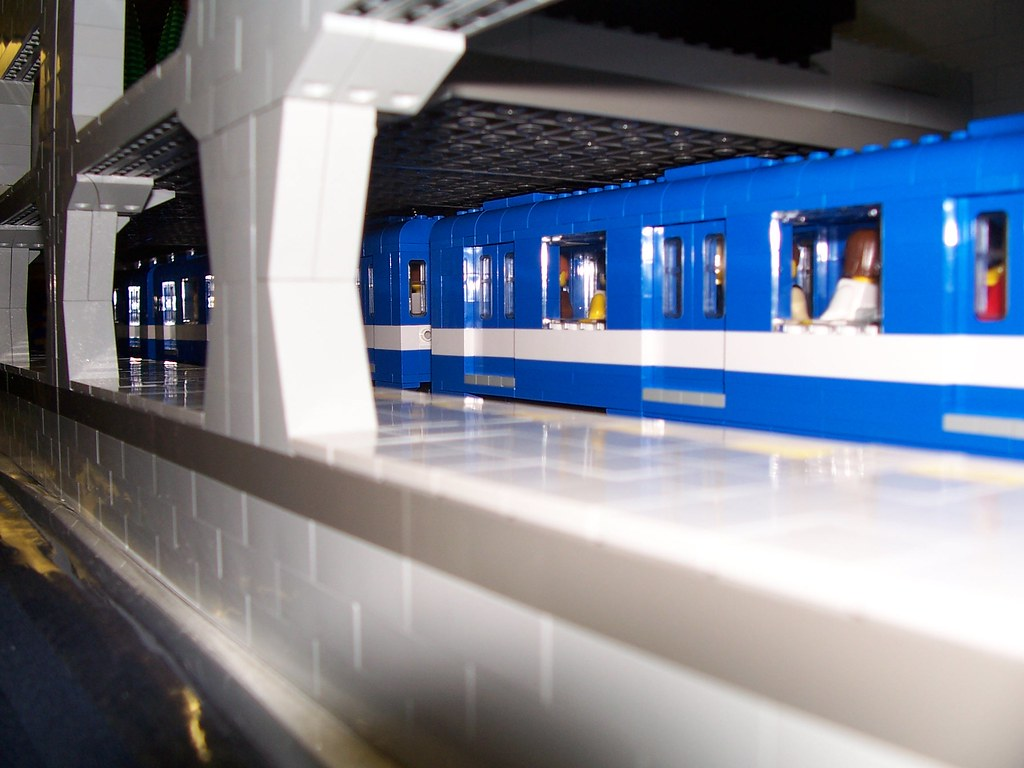 LEGO: Metro Prefontaine! @ ExpoTrain Modelisme | See it in ...