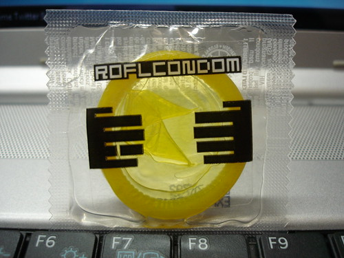 ROFLcondom | by medigirol