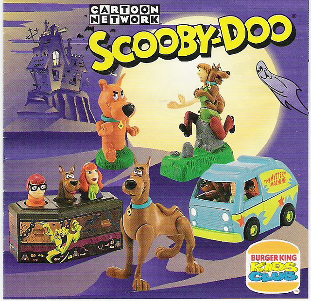 Scooby-Doo Burger King...