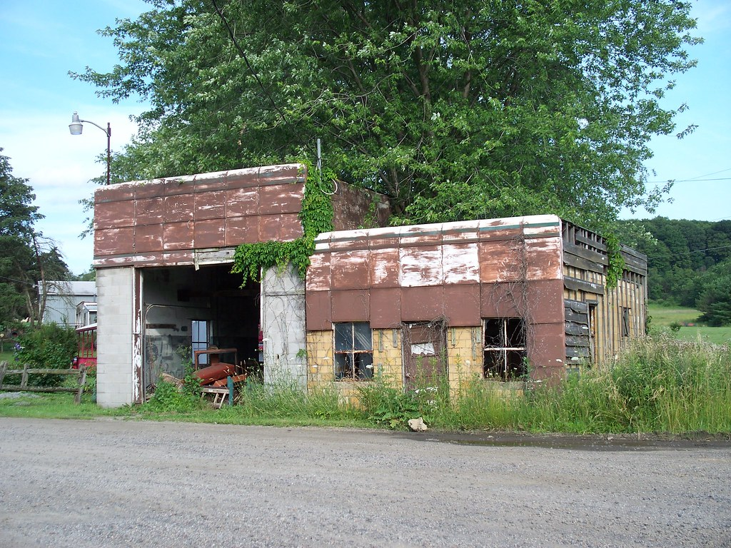 Oh Columbiana County Abandoned Gas Station Abandoned