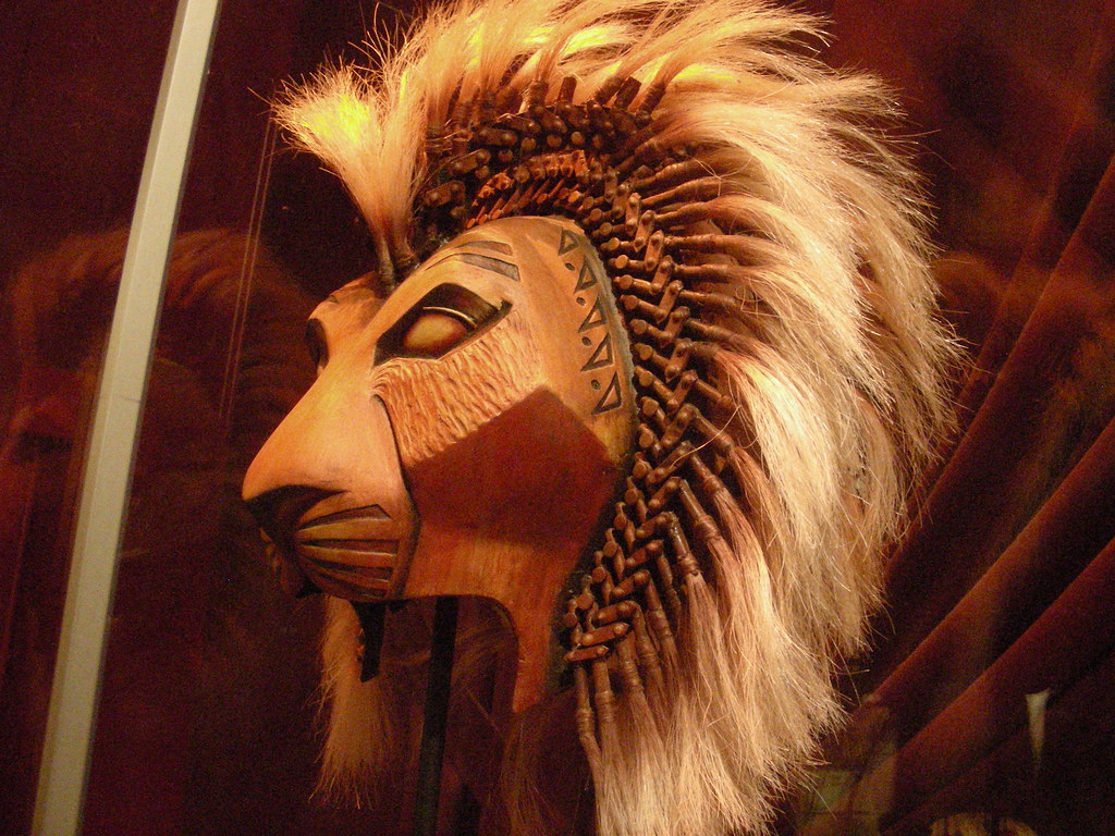 Lion King Musical Simba Mask Mask From 'the Lion King'