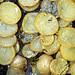 roast potato slices