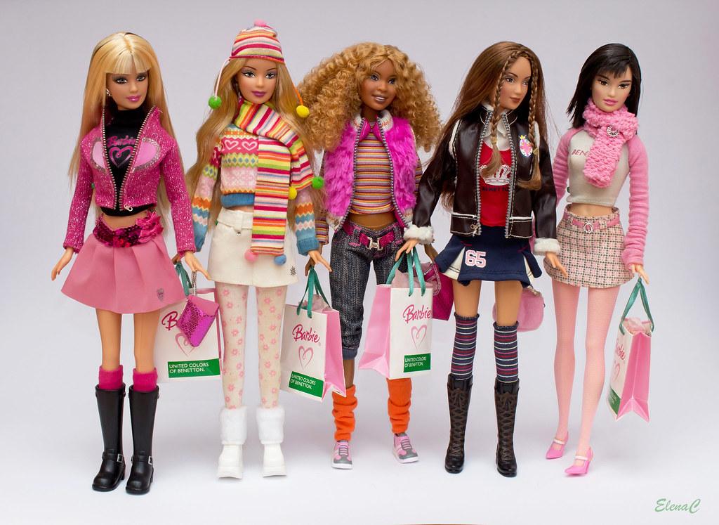 Barbie Loves Benetton - Prima serie (Autunno/Inverno 2005)…  Flickr