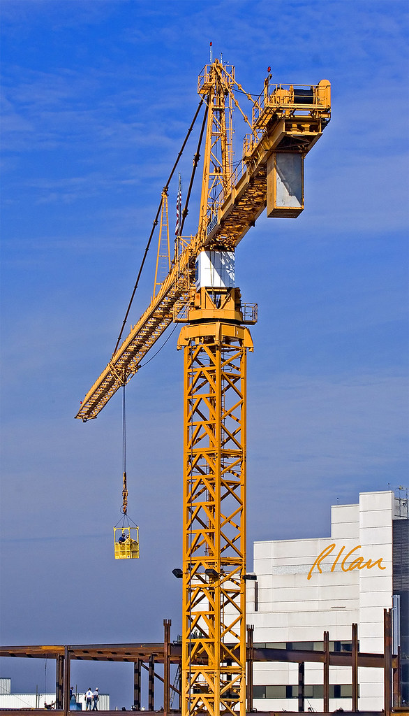 Steel Frame Towers : Tower crane structural steel construction