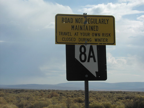 NV-8A East - Travel At Your Own Risk | by sagebrushgis