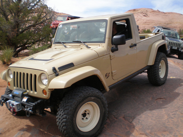2007 Jeep Jk Pickup Truck Conversion Jt It Looks Like