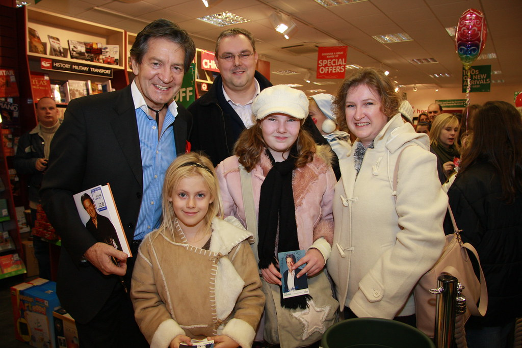 patrick mower and happy family