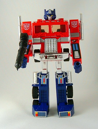 transformers optimus prime g1 encore reissue modo robot