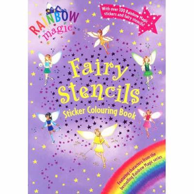 Rainbow Magic Fairy Stencils Sticker Colouring Book