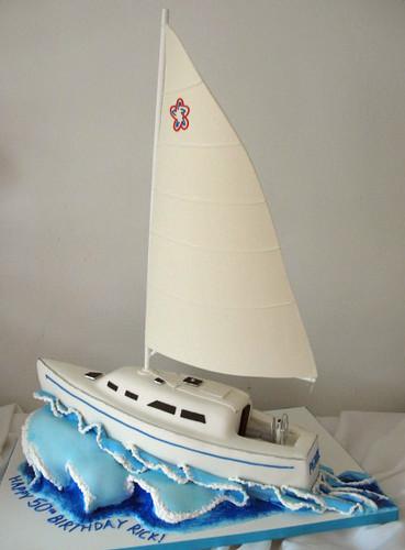 How To Make A Sailboat Cake