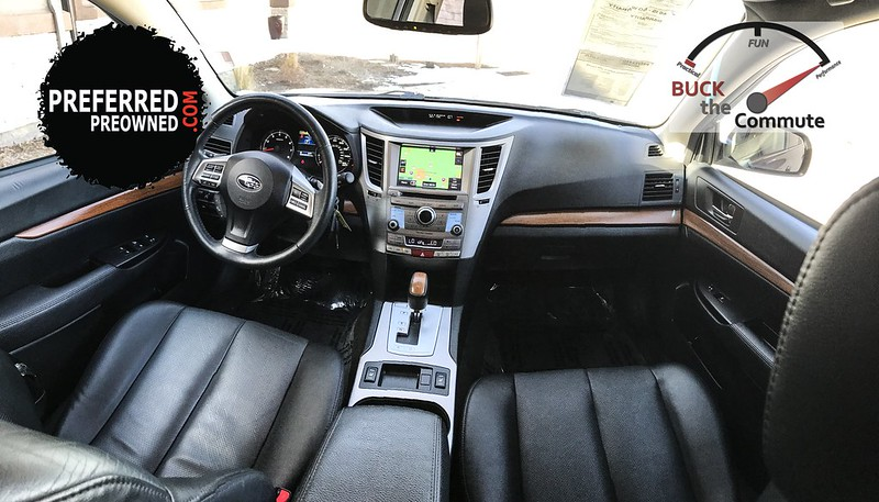 2014 Subaru Outback 3.6R AWD Limited Interior - Buck The Commute