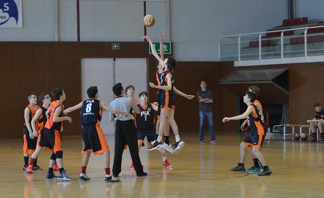 Cadet negre & basquet Pia Sabadell (18.02.17)