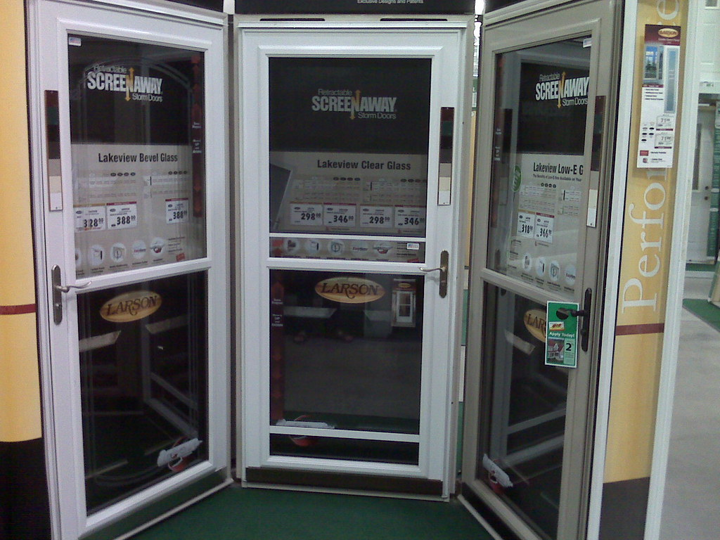 ... Screen Door Shopping At Menards, Grand Forks, ND | By Anastaz1a