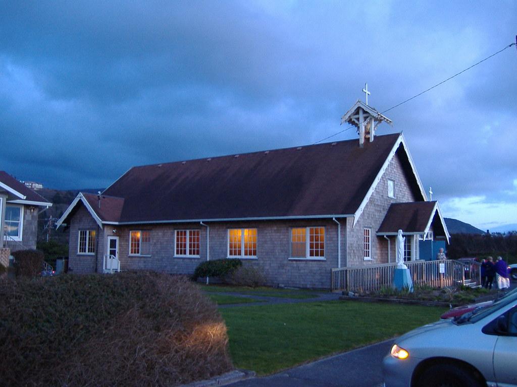 St Mary S By The Sea Church Rockaway Beach Oregon Flickr