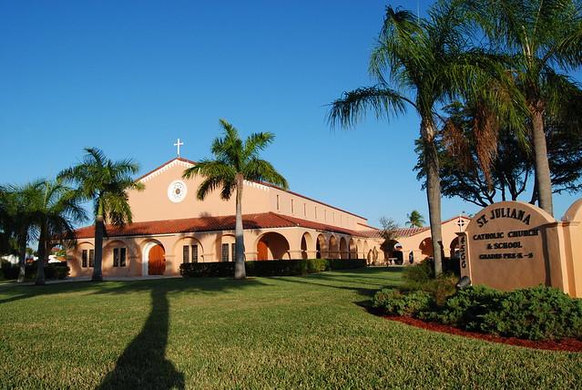 St Juliana Catholic Church In West Palm Beach
