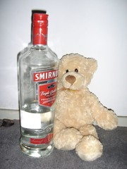 Beary Manilow and vodka | by nearthecastle