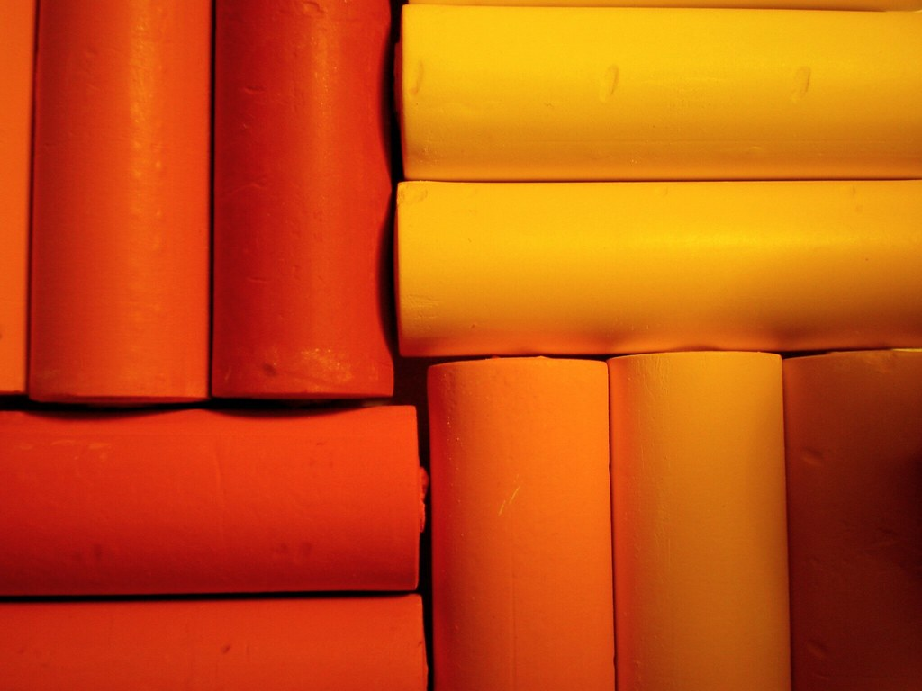 Shades Of Orange Shades Of Orange  An Image Made Up Of New Pastels I Got As …  Flickr