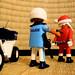 Le Père Noël arrêté // Santa under arrest
