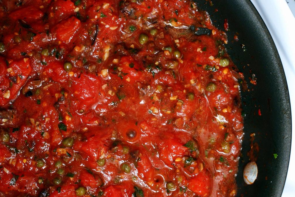 Простой рецепт соуса путанеска