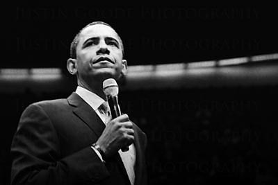 Senator Barack Obama | by Justin Goode