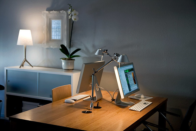 You can manage your business from your home office home